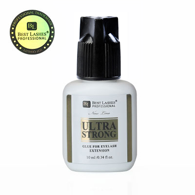 Ultra silné lepidlo na řasy Ultra Strong 10ml New Line