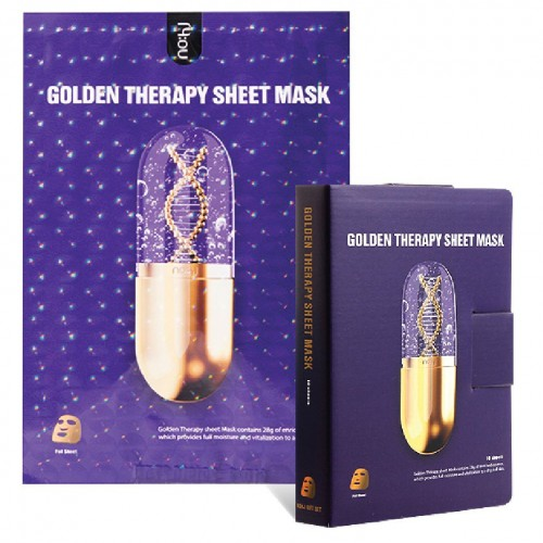 Zlatá maska - Golden therapy sheet mask
