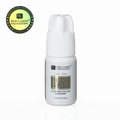 Lepidlo na řasy Clear Glue 5ml New Line